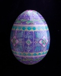 1101414 Pastel Purple Green horizontal bands duck egg-30