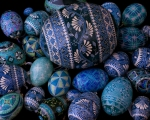 Blue Eggs en masse