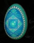 Custom Blue Goose Egg FrontView