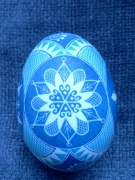 Snowflake egg (side B)
