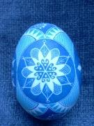 Snowflake egg (side B)