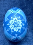 Snowflake egg (side D)