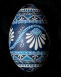 Blue Floral Goose 1200218