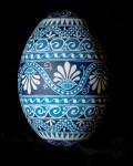 Blue Floral Goose1200318