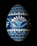 Blue Floral Goose 1200418