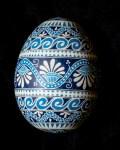 Blue Floral Goose 1200718