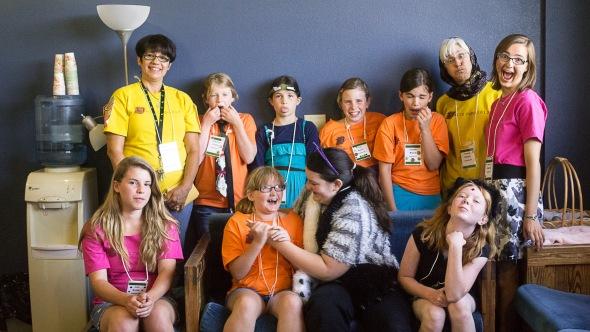 Arts Camp 2013 class