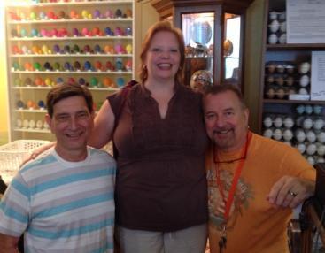 Twyla, Jim, and Gene